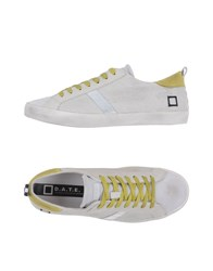D.A.T.E. Footwear Low Tops And Trainers Men White