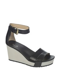 Dr. Scholl's Warner Wedge Sandals Black