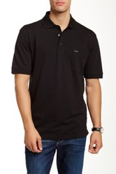 Faconnable Pique Polo Shirt Black