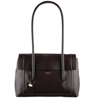 Radley Boundaries Leather Medium Tote Bag Brown