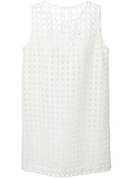 Cacharel Perforated Panel Dress