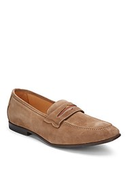 Robert Graham Sandhills Suede Penny Loafers
