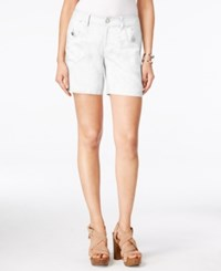 Inc International Concepts Linen Shorts Only At Macy's Bright White