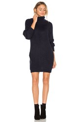 Mlm Label Generation Knit Sweater Dress Navy
