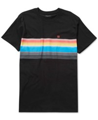 Billabong Men's Graphic Print T Shirt Indigo