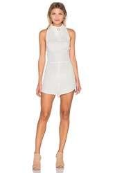 Finders Keepers Great Heights Romper White