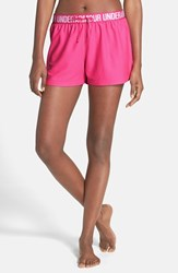 Women's Under Armour 'Play Up' Track Shorts Rebel Pink