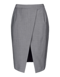 Barbara Bui Knee Length Skirt Grey