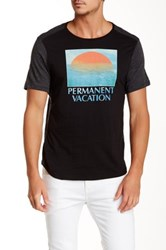Howe Permanent Vacation Crew Neck Tee Blue