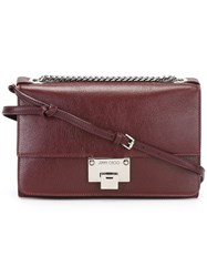Jimmy Choo 'Rebel Soft' Bag Red