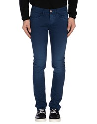 Uniform Trousers Casual Trousers Men Blue