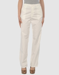 G750g Casual Pants White