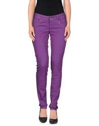 Met In Jeans Denim Pants Mauve