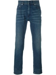 Neil Barrett Slim Fit Jeans Blue