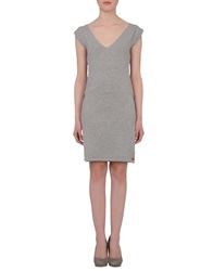 Beayukmui Short Dresses Grey