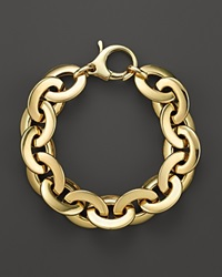 Roberto Coin 18K Yellow Gold Flat Oval Link Bracelet Bloomingdale's Exclusive