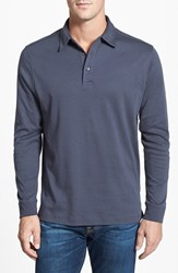 Men's Big And Tall Cutter And Buck 'Belfair' Pima Cotton Polo Onyx Grey