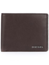Diesel Billfold Wallet Brown