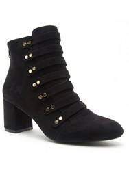 Qupid Melba Ankle Boot Black