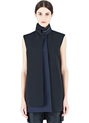 Paco Rabanne Roll Neck Tunic Black