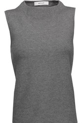 Milly Jersey Sweater Gray
