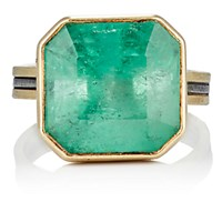 Judy Geib Women's Colombian Emerald Ring No Color
