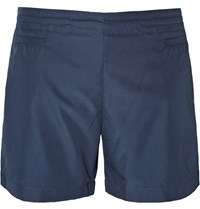 Iffley Road Shell Running Shorts Storm Blue