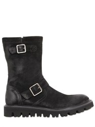 Pete Sorensen Waxed Suede Leather Boots