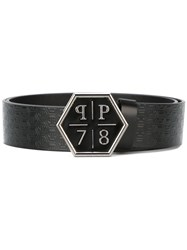 Philipp Plein 'Silent Hill' Belt Black