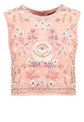 Needle And Thread Top Dust Coral Pink