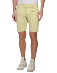 Manuel Ritz White Bermudas Acid Green