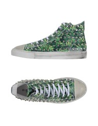 Gienchi Footwear High Tops And Trainers Men Green