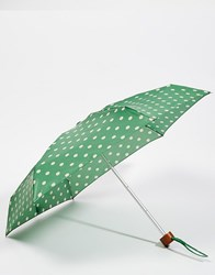 Cath Kidston Tiny 2 Umbrella In Spot Green Green