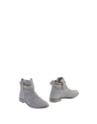 Manas Design Manas Ankle Boots Light Grey