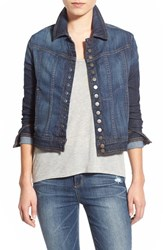 Joe's Jeans Women's Joe's 'Fahrenheit Riding' Crop Denim Jacket Charley