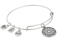 Alex And Ani Charity By Design New Beginnings Charm Bangle Rafaelian Silver Finish Bracelet