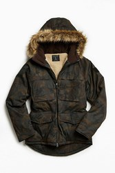 Urban Outfitters Uo Fur Lined Lakeshore Parka Jacket Multi
