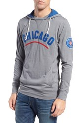 Men's Mitchell And Ness 'Chicago Cubs Away Team' Tailored Fit Hoodie
