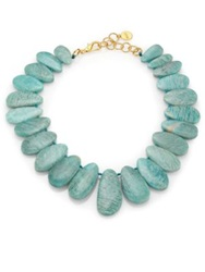 Nest Amazonite Bib Statement Necklace