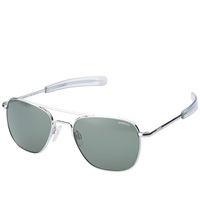 Randolph Engineering Aviator Sunglasses Bright Chrome And Agx