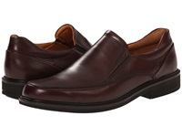 Ecco Holton Apron Toe Slip On Rust Men's Shoes Red
