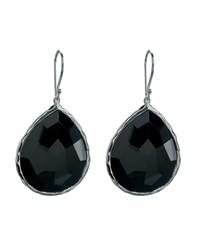 Onyx Teardrop Earrings Ippolita Silver Black Onyx