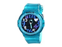 G Shock Baby G Pop Up Dial Bga131 Green Watches