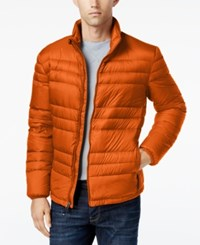32 Degrees Men's Packable Down Jacket Red Maple