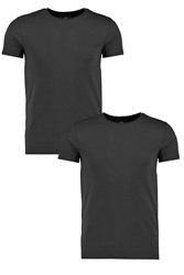 Boohoo Pack Crew Neck T Shirt Black