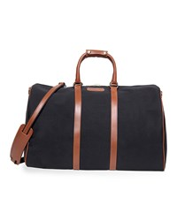 T. Anthony Classic Canvas Duffel Bag Black