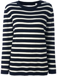 Chinti And Parker 'Breton' Pullover Blue