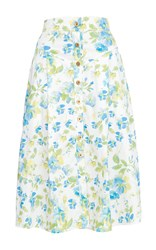 Flow The Label Floral Printed Skirt
