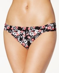 California Waves Printed Side Tab Bikini Bottom Women's Swimsuit