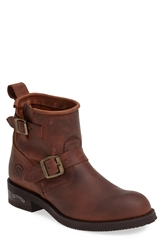 Sendra 'Engineer' Harness Boot Men Brown